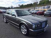 USED 2002 52 BENTLEY ARNAGE 6.8 T MULLINER AUTO 451 BHP MULLINER Driving Specification with Quilted seats, aluminium dash + +