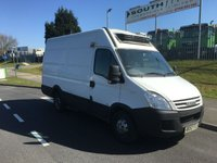 2008 IVECO-FORD DAILY 3300WB H2 ROOF FRIDGE VAN OVERNIGHT STANDBY CAPABLE -15 DEGREES 2008 £5995.00