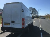 USED 2008 57 IVECO-FORD DAILY 3300WB H2 ROOF FRIDGE VAN OVERNIGHT STANDBY CAPABLE -15 DEGREES 2008