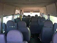 USED 2005 05 FORD TRANSIT MINIBUS 430 17 SEAT MINIBUS AIR CON ELECS SILVER TACHO 2005 COIF