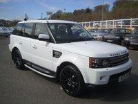 2012 LAND ROVER RANGE ROVER SPORT 3.0 SDV6 HSE 255 Diesel Auto £29750.00