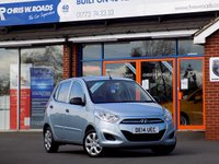 USED 2014 14 HYUNDAI I10 1.2 CLASSIC 5dr 85 BHP **ONLY £20 ROAD TAX**