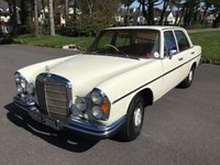 USED 1973 L MERCEDES-BENZ 280 W108 280SE AUTOMATIC BEAUTIFUL CLASSIC W108 AUTO MERCEDES  DESIREABLE STACKED LIGHT MODEL IN IVORY WITH RED LEATHER RHD GREAT DRIVE SUPERB INVESTMENT AND VERY USEABLE SUPER COOL CAR IN EVERYWAY