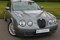 USED 2005 05 JAGUAR S-TYPE 2.7 V6 SPORT 4d AUTO 206 BHP VERY RARE WITH THIS PROVENANCE