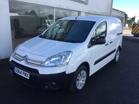 2015 CITROEN BERLINGO 625 ENTERPRISE L1 H1 1.6 HDI 75 £SOLD
