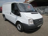 USED 2013 63 FORD TRANSIT 280 SWB Low roof 100PS *NO VAT TO PAY* FACTORY BLUETOOTH + NO VAT TO PAY
