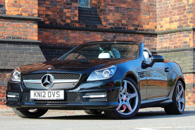 2012 12 MERCEDES-BENZ SLK 3.5 SLK350 BlueEFFICIENCY AMG Sport Edition 125 7G-Tronic Plus 2dr