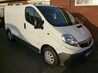 USED 2011 11 VAUXHALL VIVARO 2.0 2900 CDTI 1d 89 BHP Only 2 left form 8, 67 - 76k from £5350+ VAT Super Condition Vivaro Vans From 67 - 76,000 Miles Priced From £5350 + VAT.