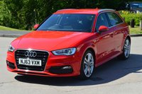 USED 2013 63 AUDI A3 2.0 TDI S LINE 5d 148 BHP REQUEST YOUR WHATSAPP VIDEO