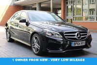 USED 2015 64 MERCEDES-BENZ E CLASS 2.1 E220 BLUETEC AMG LINE 4d AUTO 174 BHP 1 Owner -- Full Service History -- Mercedes Benz Warranty until February 2018