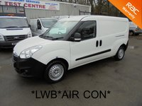 USED 2012 12 VAUXHALL COMBO LWB 2300 L2H1 1.3 CDTi *LWB*AIR CON*RACKING*IMMACULATE*