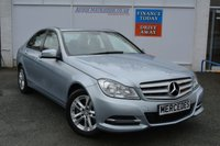 USED 2014 14 MERCEDES-BENZ C CLASS 2.1 C220 CDI BLUEEFFICIENCY EXECUTIVE SE 4d AUTO 168 BHP FLEXIBLE FINANCE OPTIONS ON THIS MERCEDES