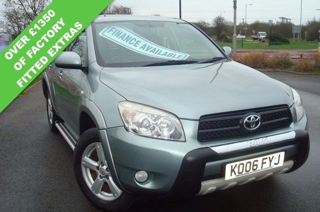 2006 06 TOYOTA RAV4 2.0 XT4 VVT-I 5d 151 BHP TOP SPEC FULL LEATHER