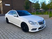 USED 2012 12 MERCEDES-BENZ E CLASS 3.0 E350 CDI BlueEFFICIENCY Sport 7G-Tronic Plus 4dr (start/stop) 11 x OPTIONAL EXTRAS WORTH £8k
