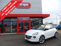USED 2016 16 VAUXHALL ADAM 1.4 SLAM 3d 85 BHP ***GREAT FIRST CAR***