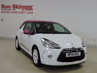 USED 2014 14 CITROEN DS3 1.6 E-HDI AIRDREAM DSTYLE PINK 3d 90 BHP