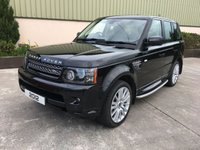 USED 2012 LAND ROVER RANGE ROVER SPORT 3.0 SDV6 HSE AUTO MASSIVE SPEC, LEATHER HEATED SEATS, SAT NAV, REVERSE CAMERA, NEW TYRES