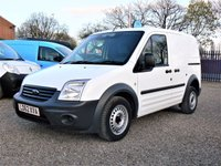 USED 2012 62 FORD TRANSIT CONNECT 1.8TDCI  T220 SWB DPF  AIR CONDITIONING/1 OWNER