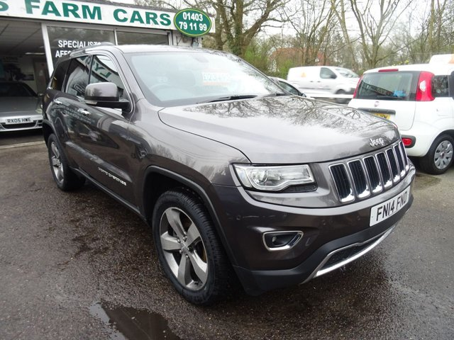 2014 14 JEEP GRAND CHEROKEE 3.0 V6 CRD LIMITED PLUS 5d AUTO 247 BHP