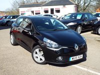 2015 RENAULT CLIO 0.9 EXPRESSION PLUS ENERGY TCE ECO2 S/S 5d 90 BHP £8350.00