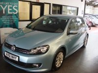 USED 2011 61 VOLKSWAGEN GOLF 1.6 S TDI BLUEMOTION 5d 103 BHP Fitted with a factory body kit which is very tasteful & Finished in Glacier Blue metallic....Full servicing done at VW @ Stowmarket Suffolk @ 9667/19084/29066/38234/56890 miles...£0 road tax!! 50 MPG + One family owned from new,  It is fitted with power steering, Cruise control, rear park sensors, air conditioning, remote locking, auxillary/MP3 port,  electric windows, heated mirrors and more. We will supply the car with a service, 12 months Mot and a 6 month warranty which can be extended.