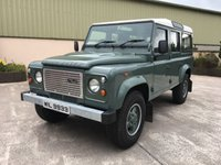 USED 2009 LAND ROVER DEFENDER 110 2.4 DEFENDER 110 TDCI 5 SEATER STATION WAGON 'HERITAGE' DESIGN, 5 SEATER, COLOUR CODED ALLOYS, COLOUR CODED ARCHES