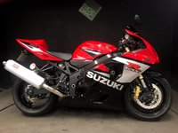 2005 SUZUKI GSXR 600 K5. 10K. REALLY GREAT CONDITION. FSH. MANY EXTRAS.  £3999.00