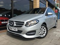 USED 2014 64 MERCEDES-BENZ B CLASS B180 CDI SE EXECUTIVE AUTO LEATHER + NAV 107BHP