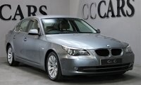 USED 2009 59 BMW 5 SERIES 2.0 520D SE BUSINESS EDITION 4d 175 BHP SAT NAV LEATHER FULL HISTORY