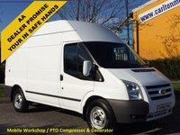 USED 2011 61 FORD TRANSIT 100 T350m H/Roof [ Mobile Workshop+Compressor ] Van