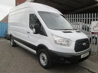 2015 FORD TRANSIT 350 L3 H3 LWB High roof 125PS *ONLY 26000 MILES* £13495.00