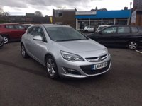 USED 2014 14 VAUXHALL ASTRA 2.0 SRI CDTI 5d AUTO 163 BHP 10245 MILES!! AUTOMATIC!!..DIESEL WITH PARKING SENSORS!!