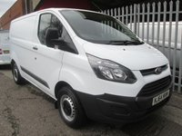 2014 FORD TRANSIT CUSTOM 290 L1 SWB 100PS *ONE OWNER*45000 MILES* £SOLD