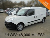 USED 2013 63 VAUXHALL COMBO LWB 1.3 CDTi 16V 90 BHP*TWIN SIDE DOORS*48,000 MILES*