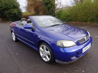 USED 2005 05 VAUXHALL ASTRA 1.8 EXCLUSIVE 16V 2d 125 BHP CAM BELT DONE AT 83K IN 2014