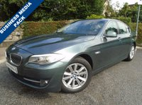 USED 2011 S BMW 5 SERIES 2.0 520D SE 4d AUTO 181 BHP **SAT NAV + LEATHER + CRUISE**