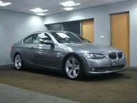 USED 2007 07 BMW 3 SERIES 3.0 335D SE 2d AUTO 282 BHP FULL RED LEATHER