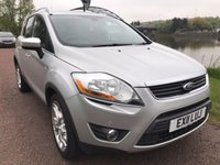 USED 2011 FORD KUGA 2.0 TITANIUM TDCI AWD 5d 163 BHP **APPEARANCE PACK, HEATED FRONT SCREEN**