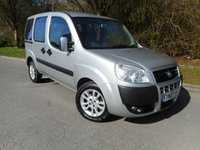 2007 FIAT DOBLO 1.4 8V DYNAMIC H/R 5d 77 BHP(WHEELCHAIR ACCESSIBLE VEHICLE) £3995.00