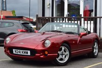 USED 1995 TVR CHIMAERA 4.0 4.0 2d  Cherry Red Pearlescent Paint and Mulberry and Parchment Half Hide.Full Service History. Power Assisted Steering.Ice Detector.Top of The Range Pioneer Radio CD Player.Stainless Steel Kick Plates.Alloy Oil Filler Cap.Cobra 7928 Alarm System.
