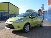 USED 2010 10 FORD FIESTA 1.2 ZETEC 5d FULL SERVICE HISTORY ~ BLUETOOTH ~ AIR CONDITIONING ~ ALLOYS