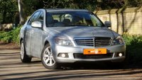 USED 2008 08 MERCEDES-BENZ C CLASS 2.1 C200 CDI SE 4d AUTO LOW MILES HPI CLEAR VGC