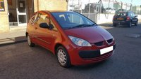USED 2005 05 MITSUBISHI COLT 1.1 RED 3d 75 BHP SPARES OR REPAIRS