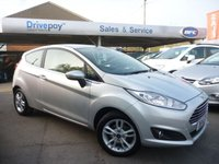 USED 2014 14 FORD FIESTA 1.5 ZETEC TDCI 3d 74 BHP WE STRIVE FOR 94% FINANCE APPROVALS