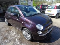 USED 2014 64 FIAT 500 1.2 DUALOGIC CULT 3d AUTOMATIC 69 BHP PRIVATE SALE, Full Service History + Recently Serviced, One Previous Owner, MOT until May 2018, Great on fuel! Only £30 Road Tax!