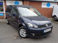 USED 2014 14 VOLKSWAGEN CADDY MAXI 1.6 C20 TDI HIGHLINE BMT 1d 101 BHP
