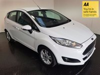 USED 2015 65 FORD FIESTA 1.0 ZETEC 5d 99 BHP BLUETOOTH-AC-ISOFIX-IDEAL FIRST CAR