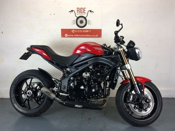 2011 11 TRIUMPH SPEED TRIPLE 1050 ABS 2011 FSH Low Mileage *Finance Available*
