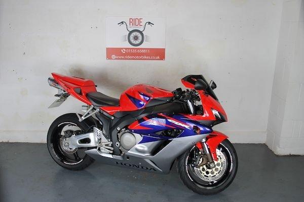 2004 54 HONDA CBR1000RR FIREBLADE 5190 miles *Finance Available*