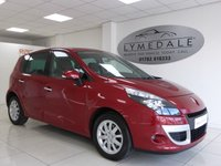 USED 2010 10 RENAULT SCENIC 1.5 PRIVILEGE TOMTOM DCI 5d 105 BHP Long MOT High Spec Sat Nav & Half Leather